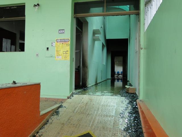 Câmara de Buerarema destruída foto Pimenta na Muqueca