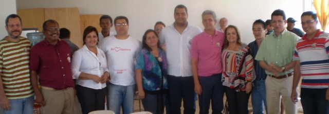 Representantes das cinco tendências anunciaram o nome de Miralva para a presidência do PT