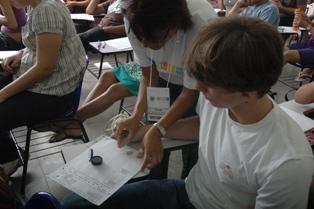 Fiscalização rigorosa para garantir identificação dos candidatos - Foto: Marcos Maurício