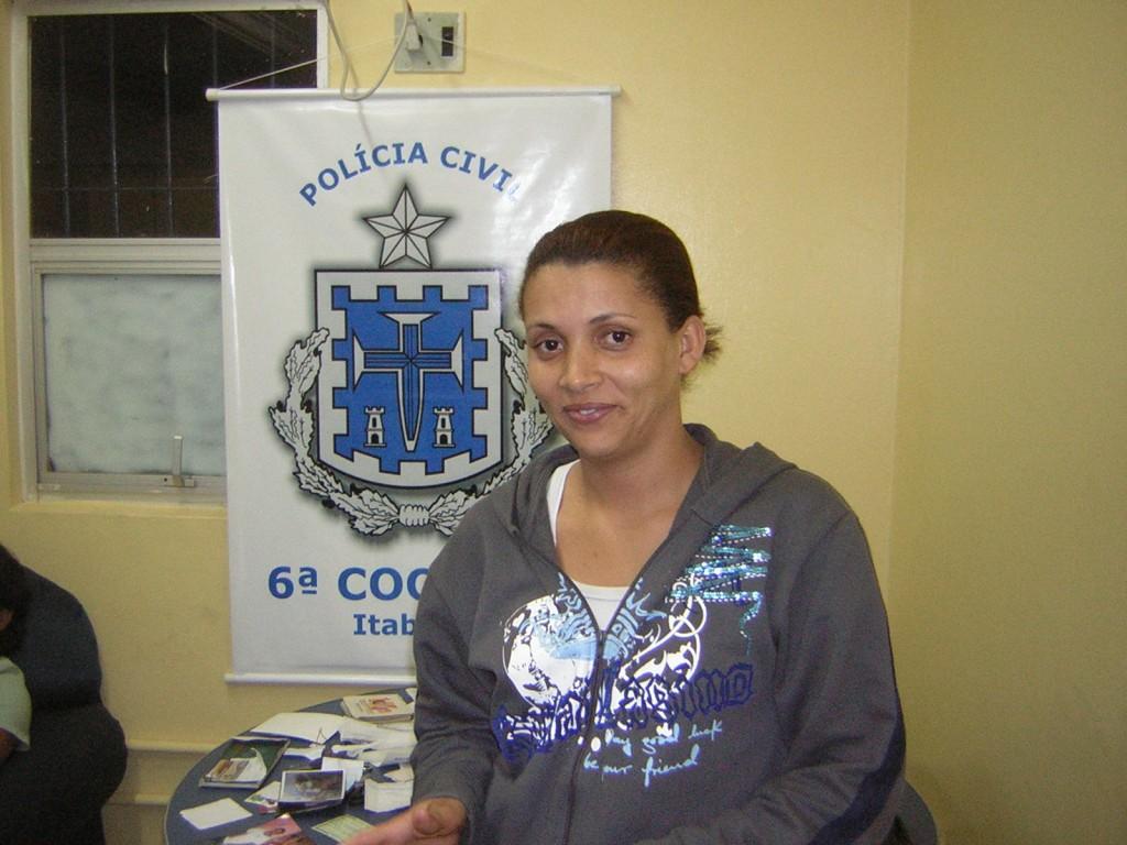 Traficante Maria Fernanda Santos foi executada (Foto Neandra Pina).