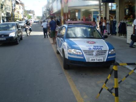 O cidadão volta a contar com o policiamento nas ruas