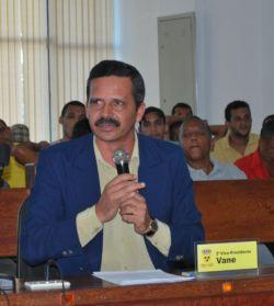 O petista Vane deu voto de confiança ao prefeito (foto Duda Lessa)