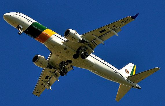 O novo avião presidencial Foto: Lucas Lacaz Ruiz/Futura Press