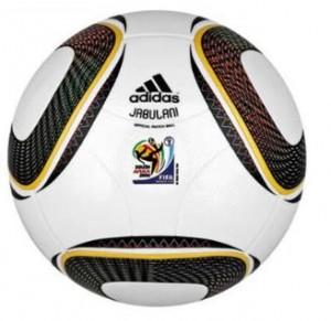Ela, a Jabulani, a bola da Copa!