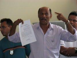 Carlos Lima denuncia multas apoliciais civis (foto: reprodução Xilindró Web)