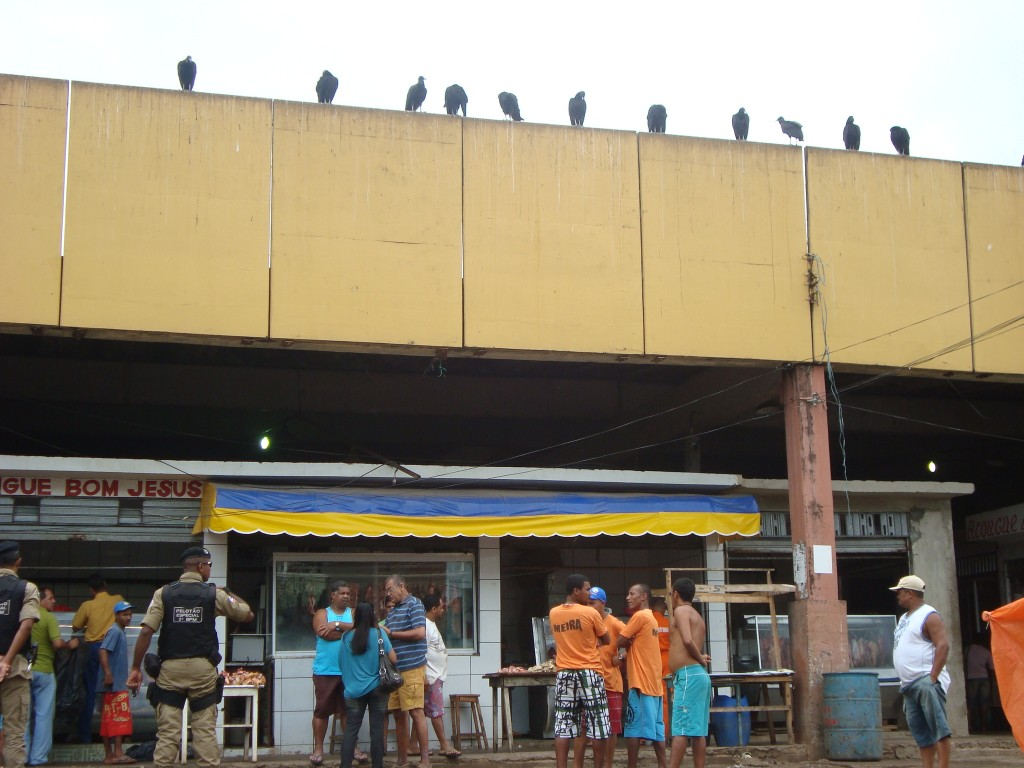 Blitz em central de abastecimento resultou em prisão em flagrante.
