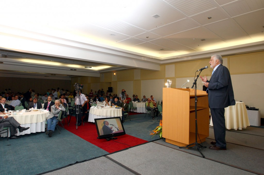 Governador fala do papel da imprensa na sociedade.