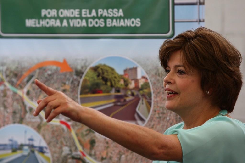 Visitas da ministra ao estado refletem na pesquisa (Foto Manu Dias).