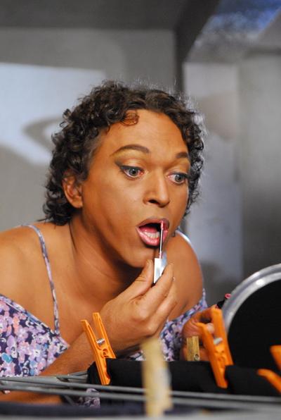 Ator ilheense interpreta Fabiano em Caras e Bocas (Foto João Miguel Júnior).