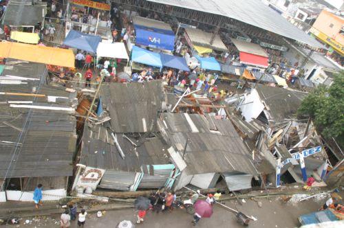 Cenário de terremoto