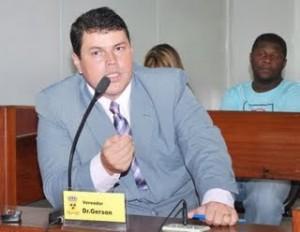 Gerson: na mira do Capitão Azevedo (Foto Duda Lessa).