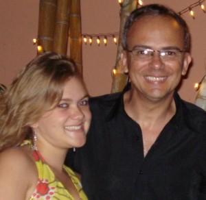 Brandão se recupera após acidente com Letícia (Arquivo pessoal).