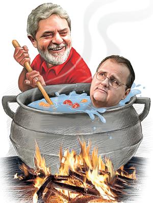 Revista diz que Lula cozinha Geddel.