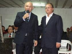 Barbosa e Geddel: olho nos religiosos e em 2010.