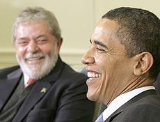 . Obama volta a elogiar Lula