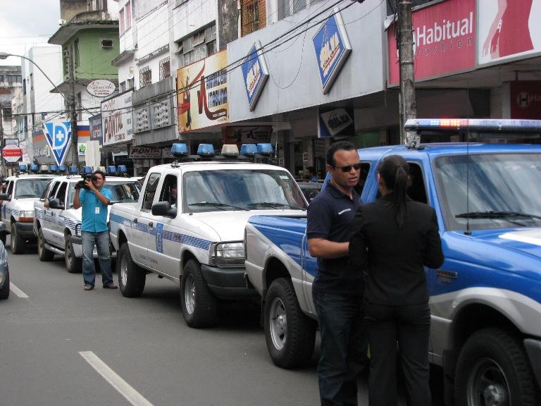 Delegado Moisés Damasceno comandou operação (Foto Oziel Aragão).