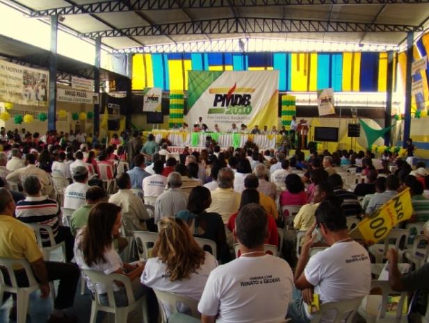Público do encontro do PMDB em Itabuna (Foto Jornal Bahia Online).