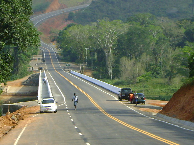 Inauguração de ponte deve acontecer no dia 3 (Foto Domingos Andrade).