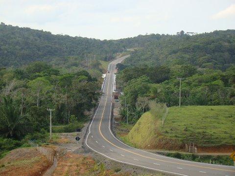 nova estrada....
