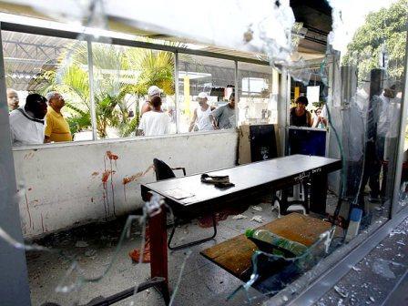 O ataque aos postos policiais deixaram policiais feridos (Foto> Futura Press)