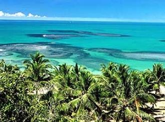Praia do Espelho é considerada uma das 10 maravilhas da costa brasileira.