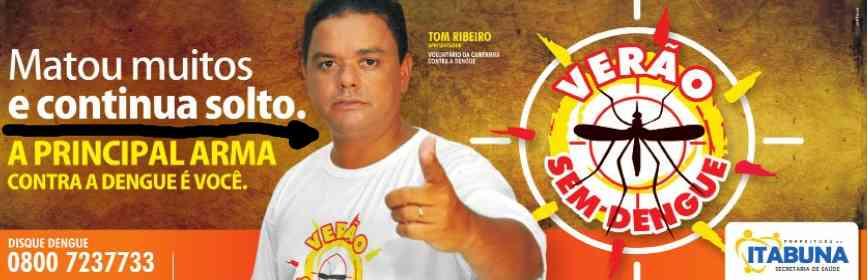 Tom Ribeiro: tá solto e vai curtir o réveillon na Costa do Cacau.