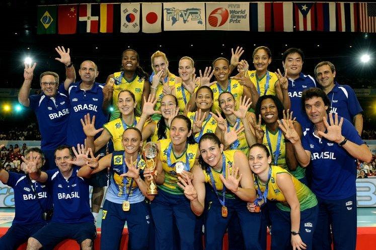 Seleção Brasileira fatura o octa do Grand Prix de forma invicta (Foto FIVB)